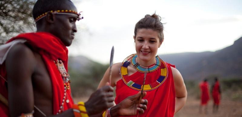 African tribe man fucks white wife - 3 1